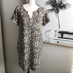Leopard cheetah large dress
